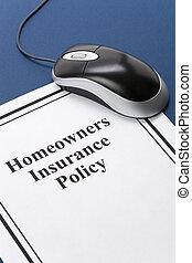 homeowners, страхование, политика