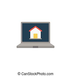 homepage flat icon