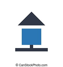 homepage  glyph color icon