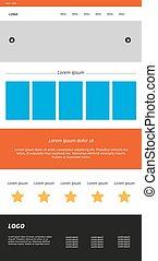 Homepage web design
