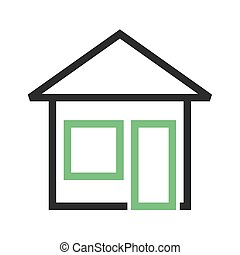 Homepage - Web, home, website icon vector image. Can also be...