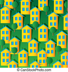 Homes in the community with the density. While there are ...