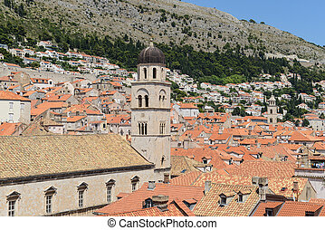 Homes in the Old Town of Dubrovnik