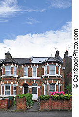 Homes London Suburban Neighborhood