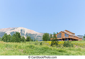 Homes - Mountain homes in Crested Butte, Colorado.