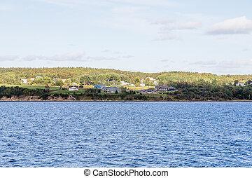 Homes on Coast of Sydney Nova Scotia