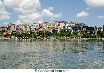 Homes overlooking the Golden Horn, Istanbul