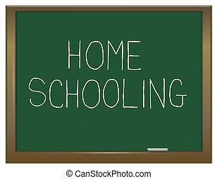 homeschooling, concept.