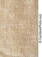 Homespun background - Homespun brown textile background
