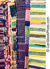 Homespun Multicolored Rugs