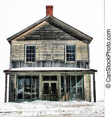 Homestead In Winter