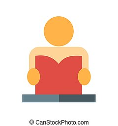 Homework - Assignment, exercise, lesson icon vector image....