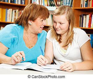 Homework Help From Mom or Teacher