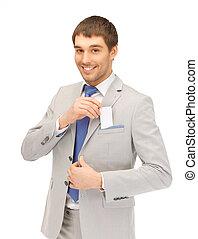 homme affaires, carte affaires