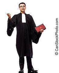 homme, avocat, plaidoirie