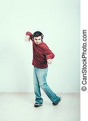 homme, danse