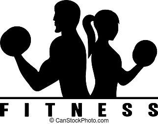 corps concept illustration silhouette vecteur muscled fitness musculation logo ou homme. Black Bedroom Furniture Sets. Home Design Ideas
