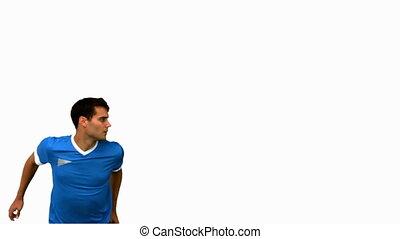 homme, football, séduisant, titre