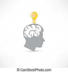 homme, idée, icône