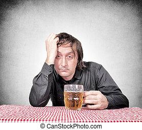 homme, ivre