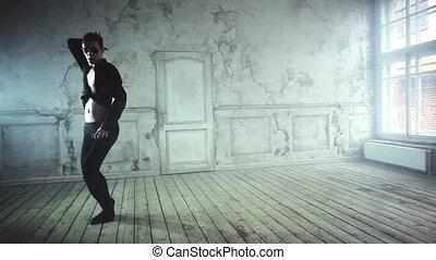 homme, jeune, danse