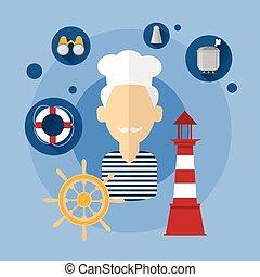 Chef cuistot professionnel cuisinier femme ic ne plat for Cuisinier bateau