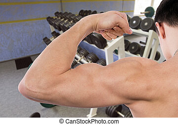 homme, musculaire