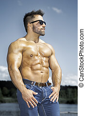 homme, musculation