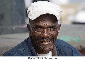 homme, personnes agées, américain africain