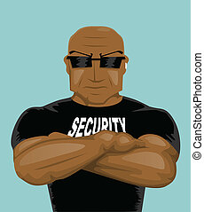 homme sécurité