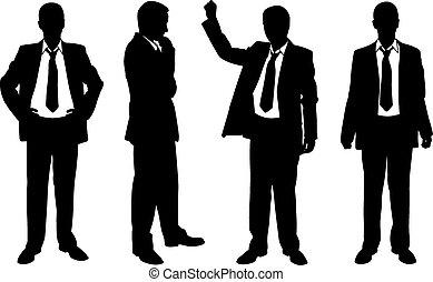 hommes affaires