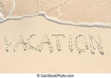 homok tengerpart, szünidő, írott