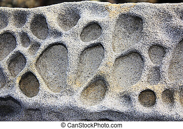 homokkő, lepusztulás