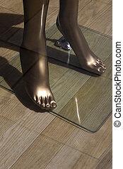 homoncule, pieds