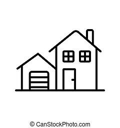 Homr icon vector illustration photo