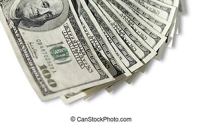 honderd dollars, rekeningen