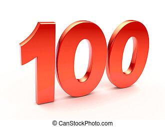 honderd, getal