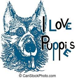 hondjes, 2, liefde