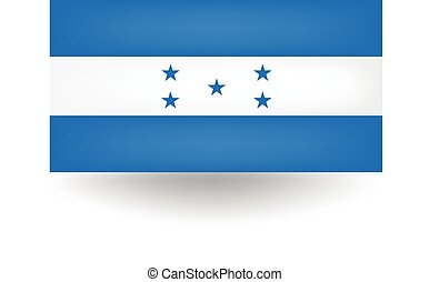 Honduras Flag - Official flag of Honduras.