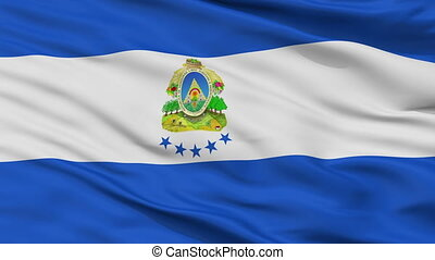 Honduras Naval Ensign Flag Closeup Seamless Loop - Naval ...