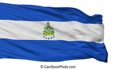 Honduras Naval Ensign Flag Isolated Seamless Loop - Naval ...