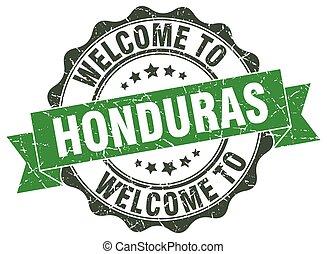 Honduras round ribbon seal