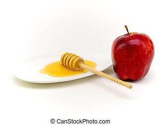 honey and appple for yom kippur - honey and apple...