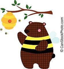 Honey Bee Bear