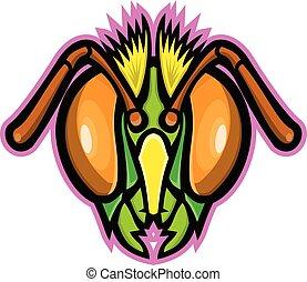 honey-bee-head-frnt-mascot