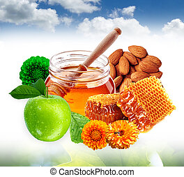 Honey Care with Almond