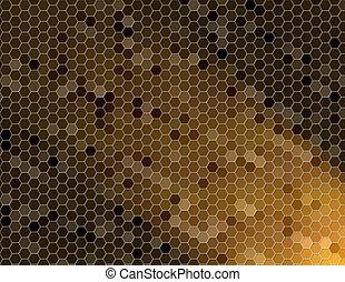 honey - cells texture