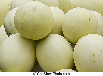 Honeydew is a cultivar group of the muskmelon, Cucumis melo Inodorus group, which includes crenshaw, casaba, Persian, winter, and other mixed melons.