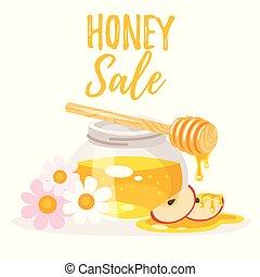 honey sale banner