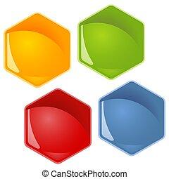 honeycomb - 4 colors